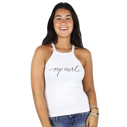 Camiseta Regata Feminina Rip Curl Alexis White