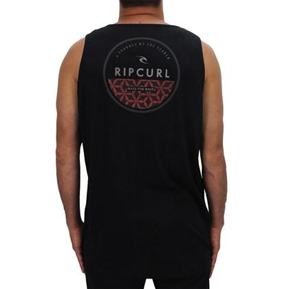 Camiseta Regata Rip Curl Extra Grande Progressive Black