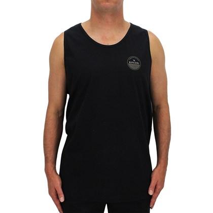 Camiseta Regata Ripcurl Extra Grande Progressive Black