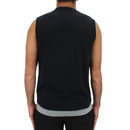 Camiseta Regata RVCA Runner Mesh Muscle Preta