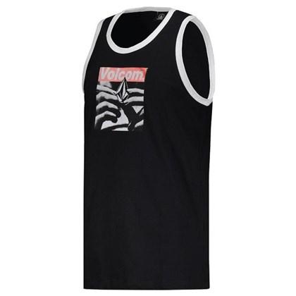 Camiseta Regata Volcom Reload Black