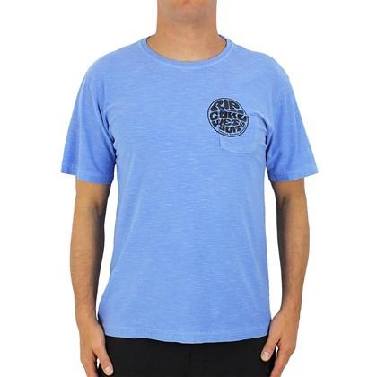Camiseta Rip Curl Especial Logo Pocket Lavender