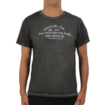 Camiseta Rip Curl Especial Saltwater Black