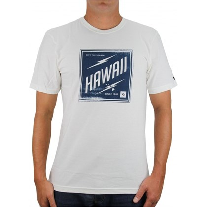 CAMISETA RIP CURL HAWAII STAMP CRÚ
