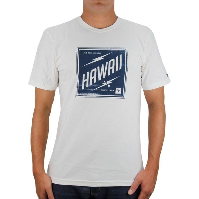 CAMISETA RIP CURL HAWAII STAMP CRÚ