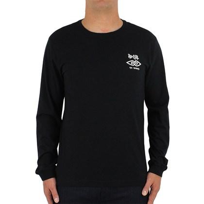 Camiseta Rip Curl Manga Longa Cosmic Mountain Black