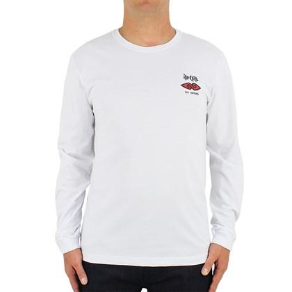 Camiseta Rip Curl Manga Longa Cosmic Mountain White