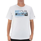 CAMISETA RIP CURL MEDINA COLLECTION GAMES BACK BRANCA