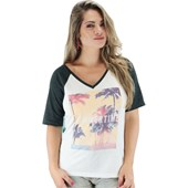 Camiseta Rip Curl Summer Time Feminina Black