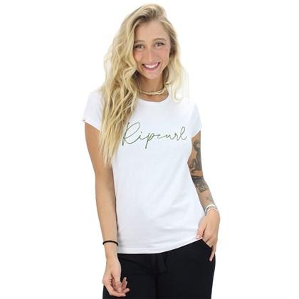 Camiseta Rip Curl Tallows Basic White