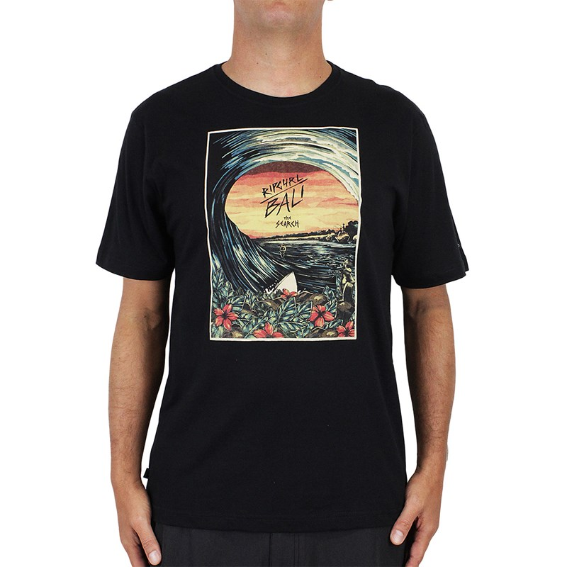 Camiseta Rip Curl The Bali Search Black