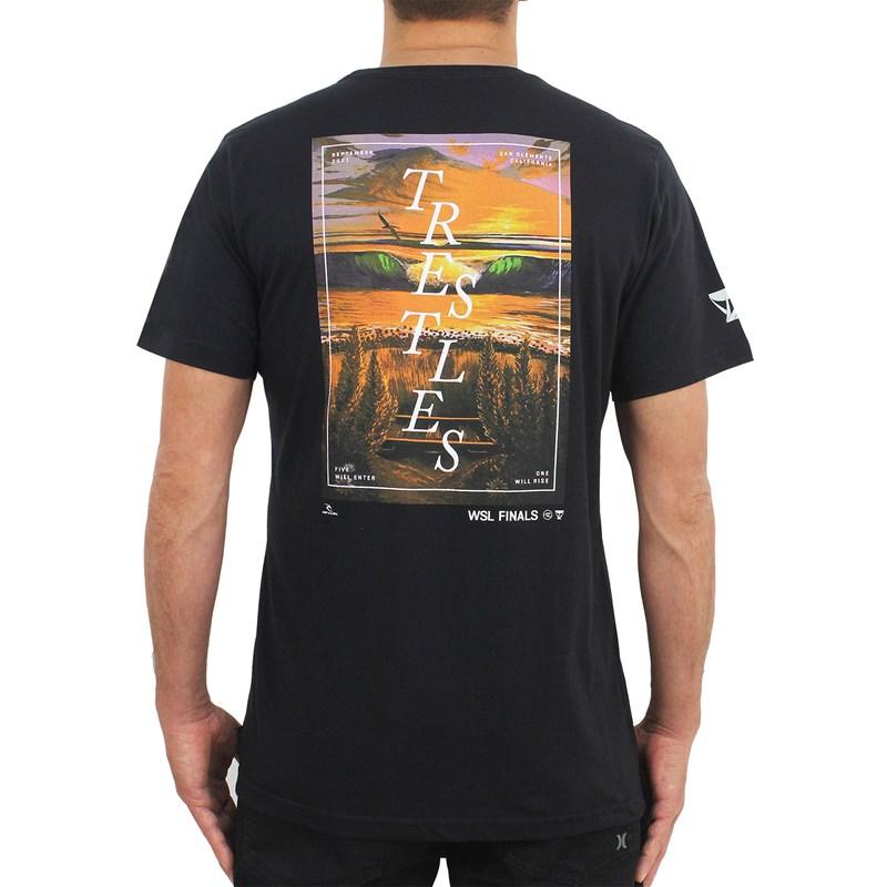 Camiseta Rip Curl WSL Finals Black