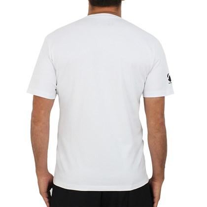 Camiseta Rusty Amphibious Rasta Branca