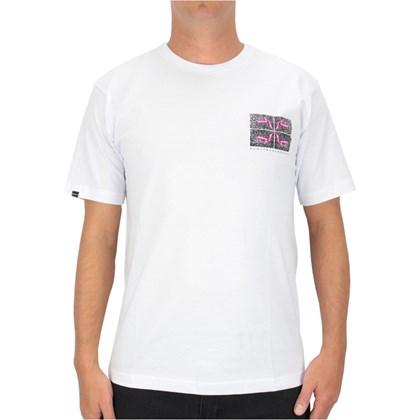 Camiseta Rusty Before Crowds Just Surfing Branca
