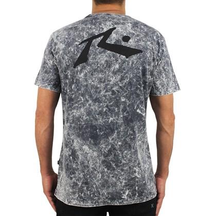 Camiseta Rusty Comp Sea Preta