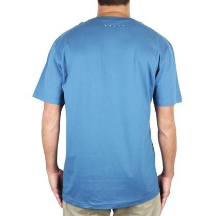 Camiseta Rusty Metal Aloha Botanyc Azul