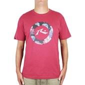 Camiseta Rusty Metal Aloha Botanyc Vermelho Mescla