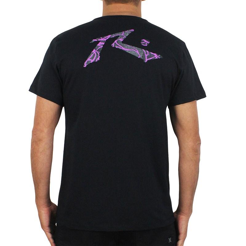 Camiseta Rusty Purple Frog Black