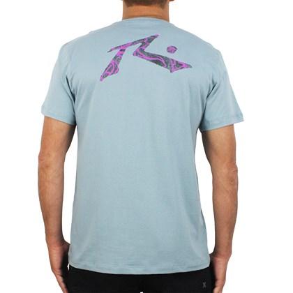 Camiseta Rusty Purple Frog Light Blue