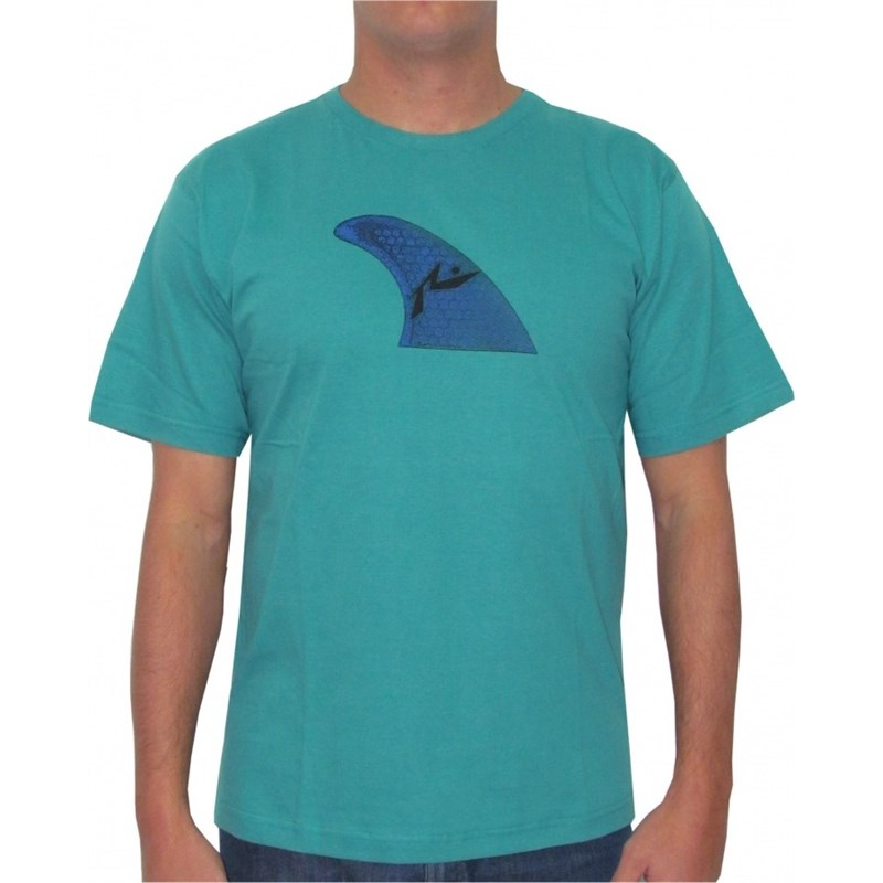 CAMISETA RUSTY QUILHA SURFBOARDS COLLECTION GREEN