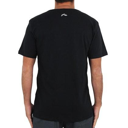 Camiseta Rusty Rasta Vibes Preta