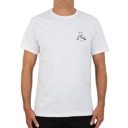 Camiseta Rusty Wade White