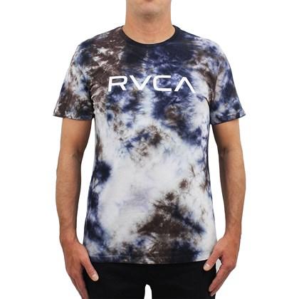 Camiseta RVCA Big RVCA Tie Dye Navy