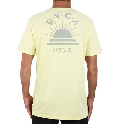 Camiseta RVCA Dawned Amarela