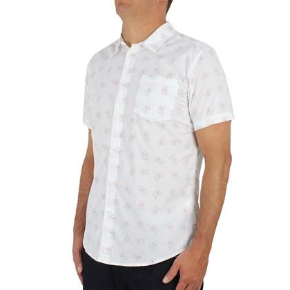 Camiseta RVCA Manga Curta Antique White