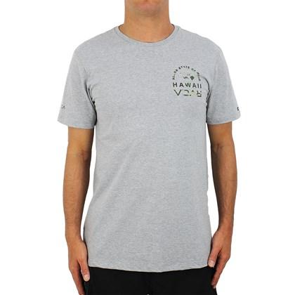 Camiseta RVCA Mind State Cinza Mescla