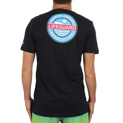 Camiseta RVCA NSLA Crest Black