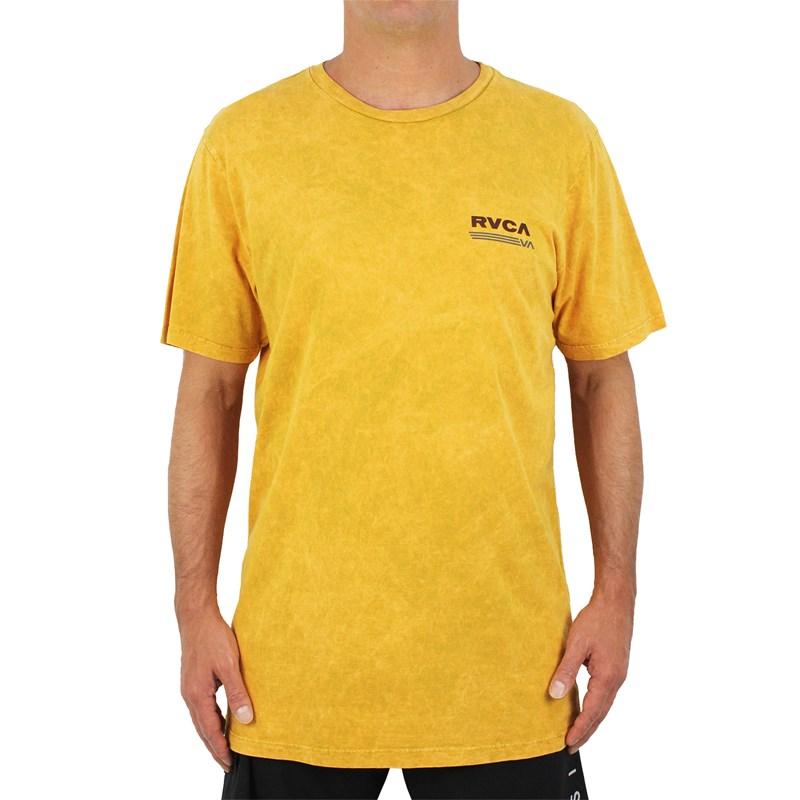 Camiseta RVCA Oval Amarela