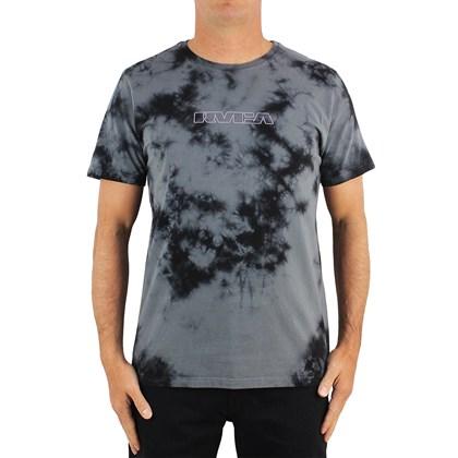 Camiseta RVCA Techline Tie Dye Cinza