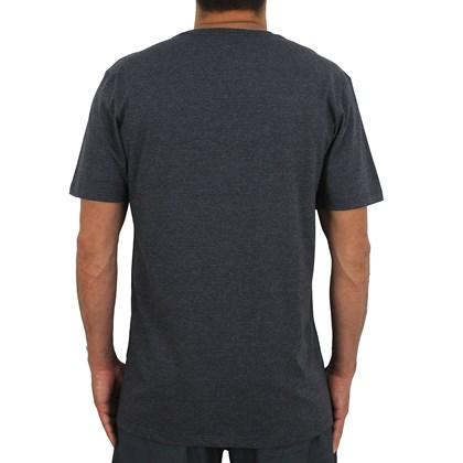 Camiseta RVCA Tiger Stare Cinza Escuro Mescla