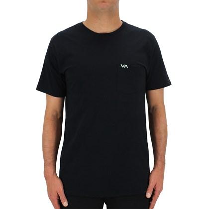 Camiseta RVCA VA Pocket Preta