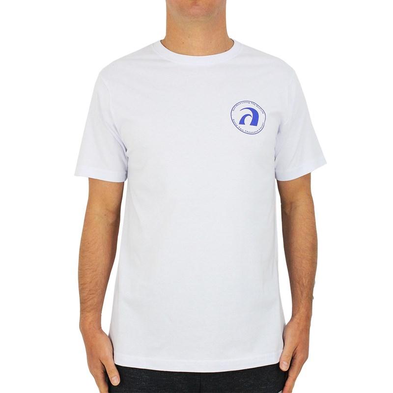 Camiseta Surf Alive Foundation White