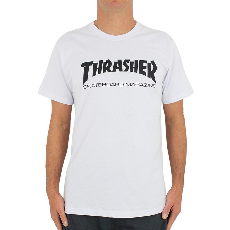 Camiseta Thrasher Skate Magazine Branca