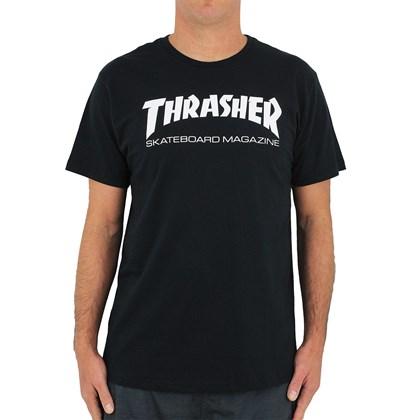 Camiseta Thrasher Skate Magazine Preta