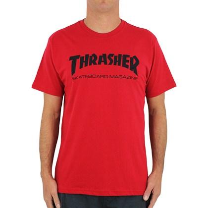 Camiseta Thrasher Skate Magazine Vermelha