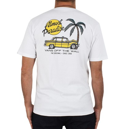 Camiseta Vans Almost Paradise´s Branca