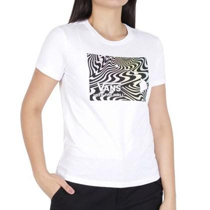Camiseta Vans Aloe Haw White