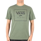 Camiseta Vans Boxed In Heather Olive