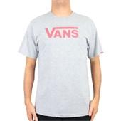 Camiseta Vans Classic Logo Cinza