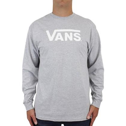 Camiseta Vans Classic Manga Longa Athletic Heather