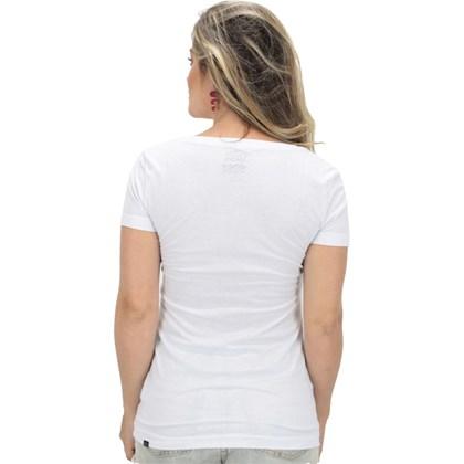 Camiseta Vans Feminina Authentic Branca