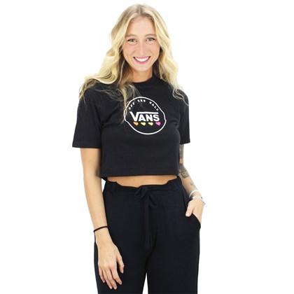 Camiseta Vans Glow Stax Black