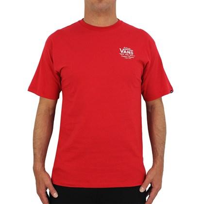 Camiseta Vans Holder ST Classic Cardinal