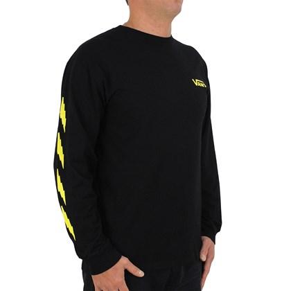 Camiseta Vans Larry Edgar Manga Longa Preta