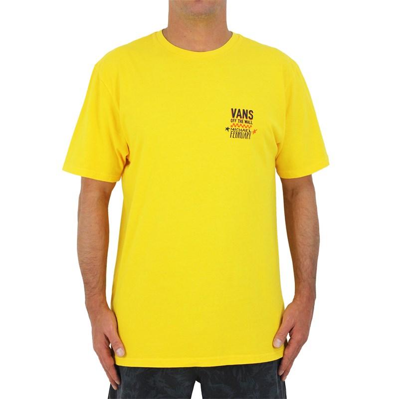 Camiseta Vans Mikey February Panel 2.5 Lemon Chrome
