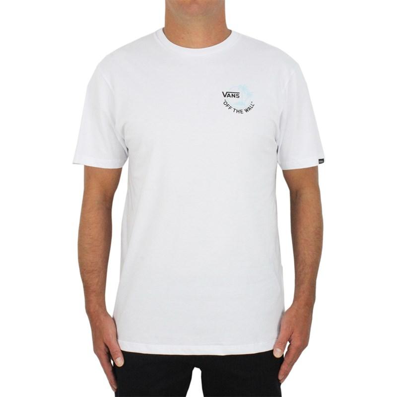 Camiseta Vans Mini Dual Palm III White